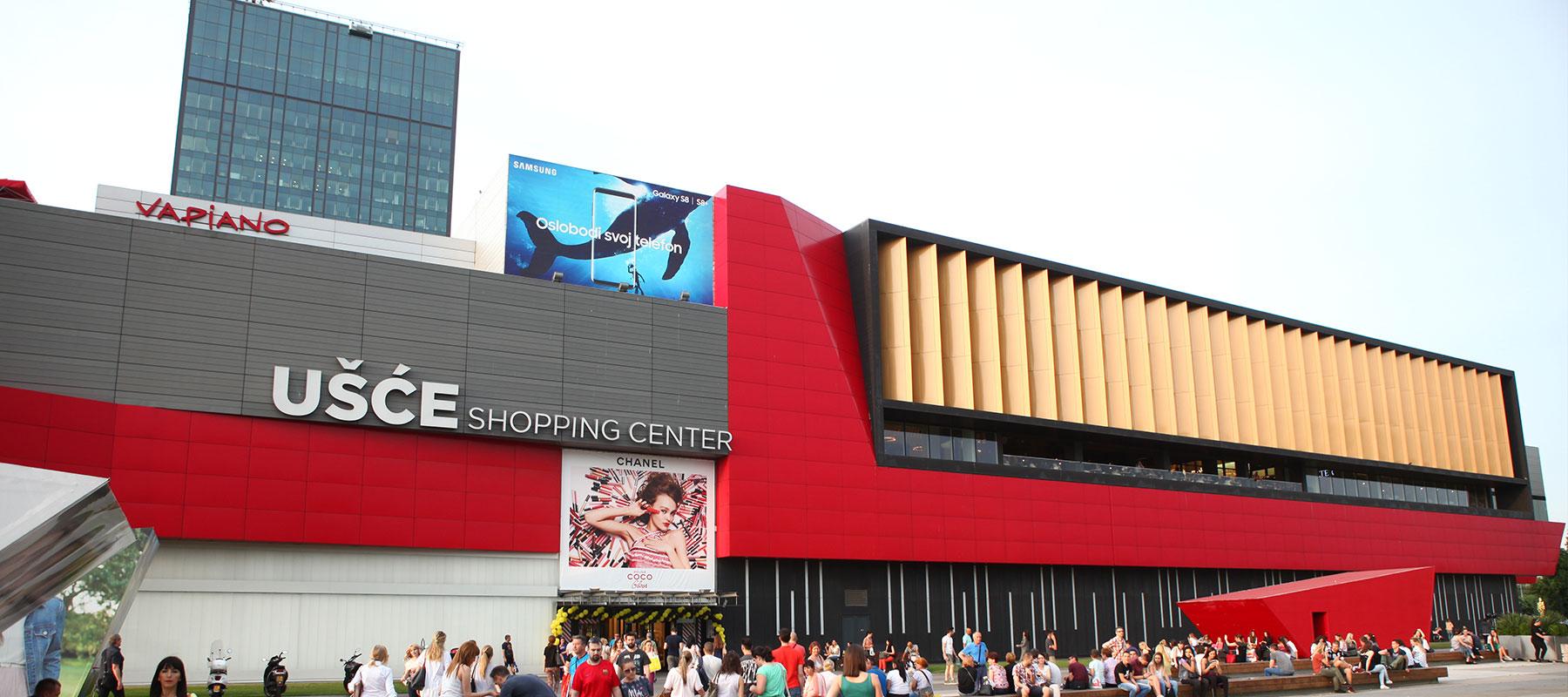 Einkaufzszentrum Usce
